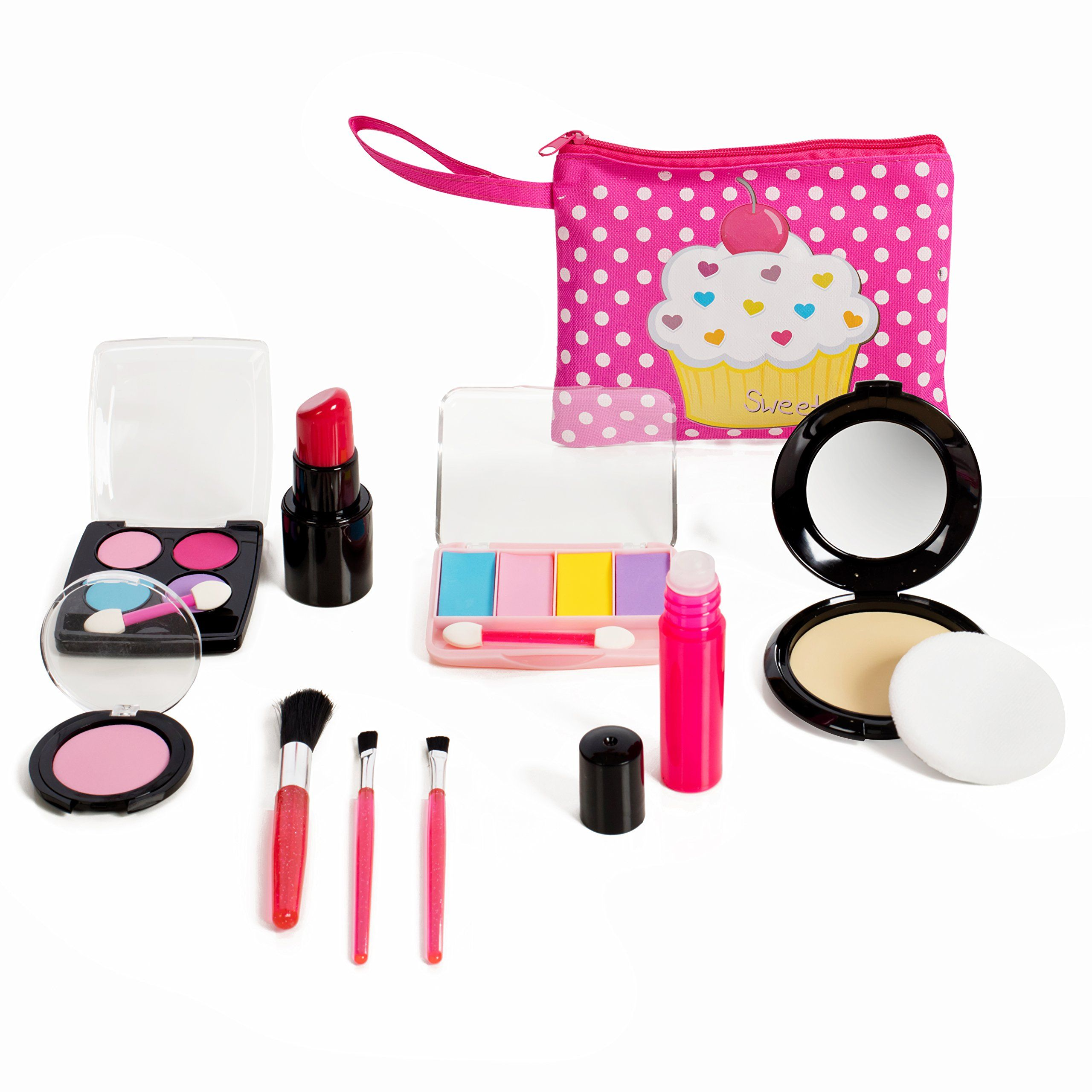 Beverly Hills Kids Pretend Play Makeup Cosmetic Kit With