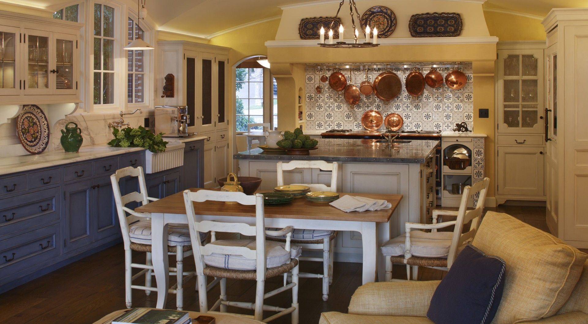 French victorian kitchen pictures french country for Kitchen cabinets french country style