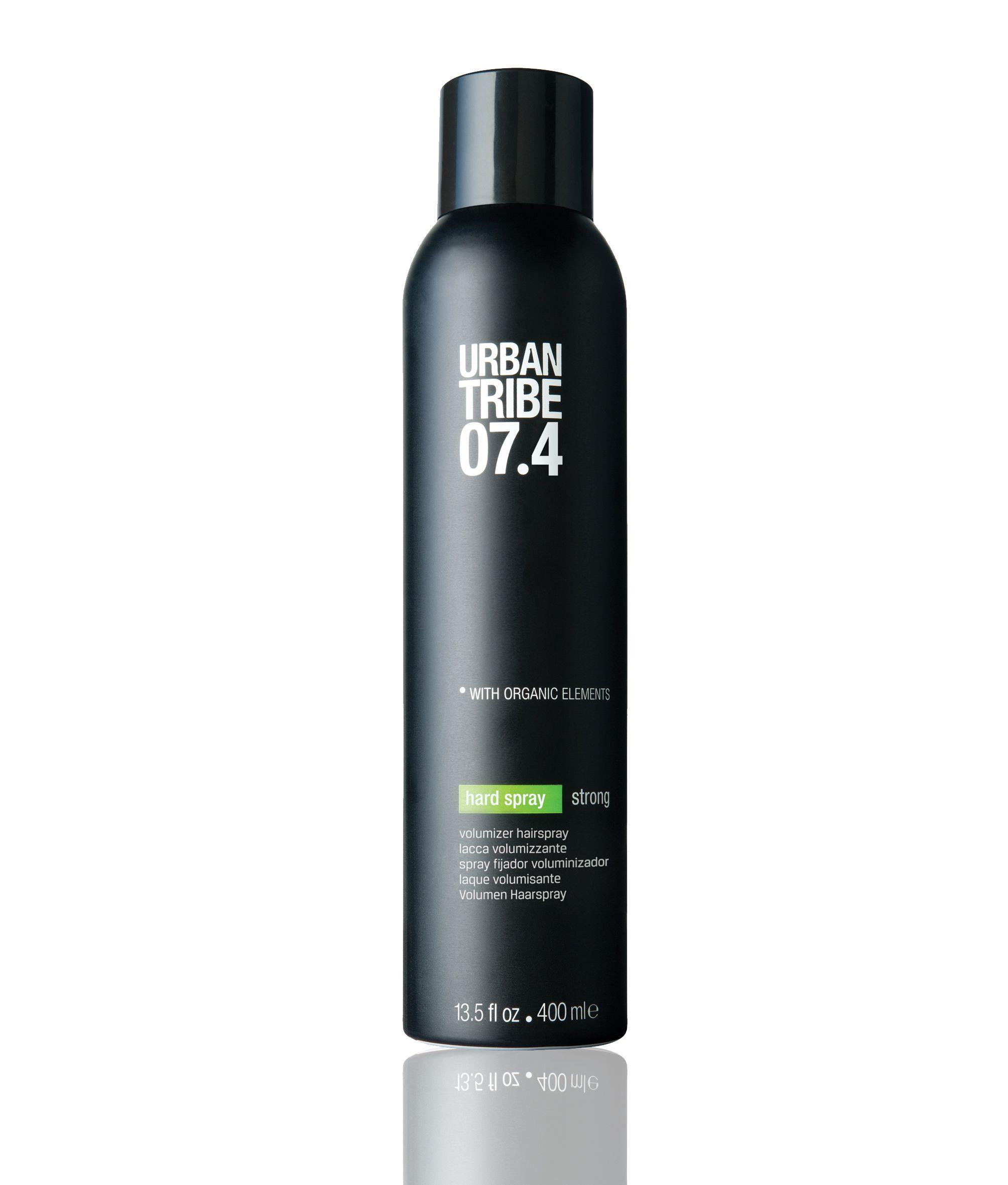 Urban Tribe 074 Hard Spray Volumizer Hairspray With Organic