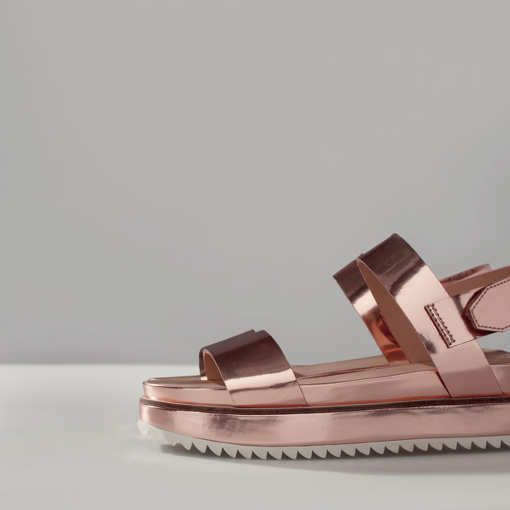 ace2d627fee4 PLATFORM SANDAL WITH TRACK SOLE http   www.zara.com nl
