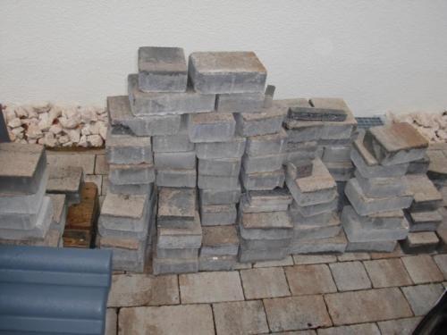 decaston beton pflastersteine muschelkalk nuanciert in. Black Bedroom Furniture Sets. Home Design Ideas