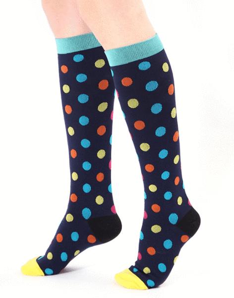 1eba289ba9b3a Cool Design Compression Socks 20-30 mmHg for Circulation, Swelling & Energy