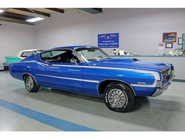 1968 Ford Torino Gt Fastback 390 4 Barrel 4 Speed Ford Torino Classic Cars Muscle Old Muscle Cars