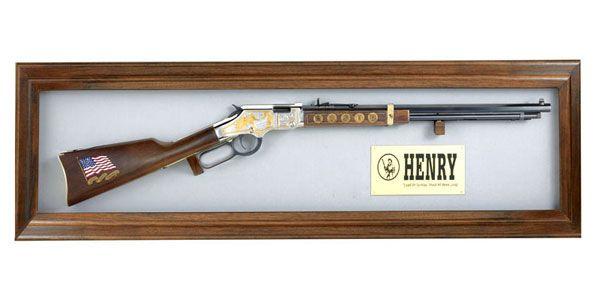 Henry Wall Display Wall Display Wall Display Case Guns Display
