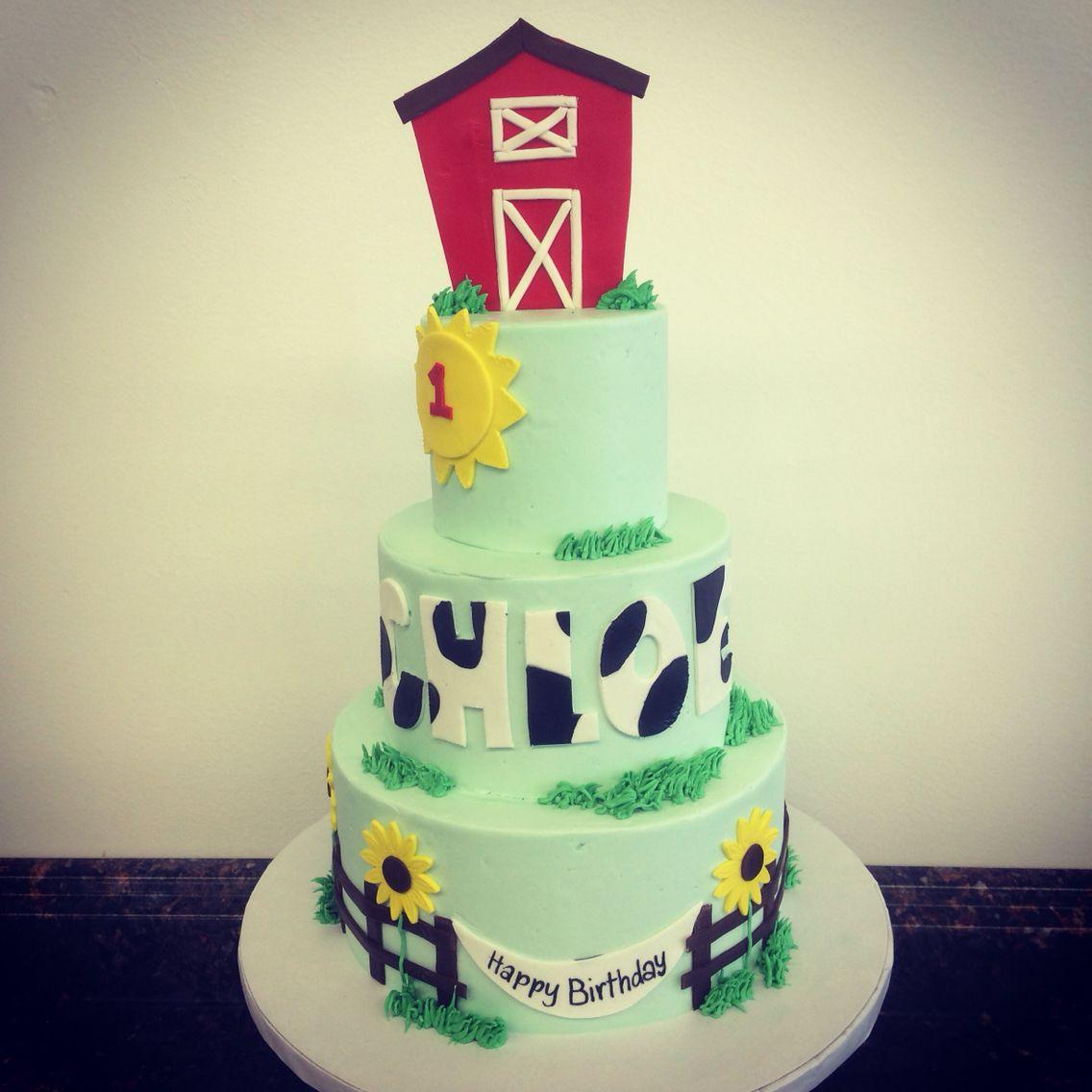 Farm birthday cake camis cake co in eudora ks facebook