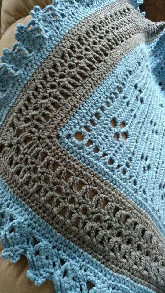 Edging On Call The Midwife Blanket Handwerken Dekens