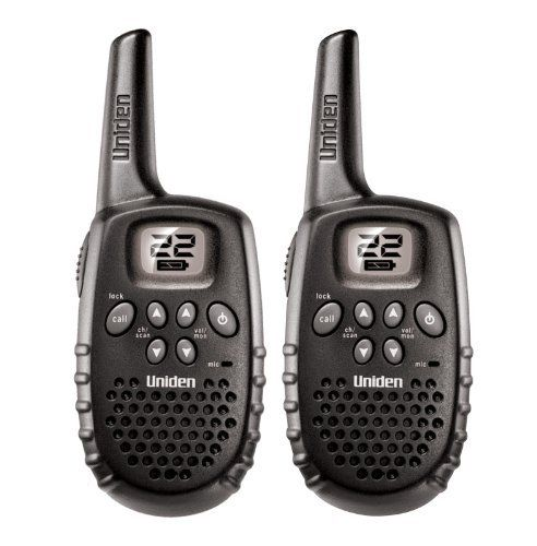 Uniden GMR 1635-2 Two-Way Radios by Uniden. $19.99. Amazon.com                 Whether you're hiking, hunting, or just trying to keep track of your fellow explorer, this is a great choice of two-way radio. With a range of up to 16 miles, the Uniden GMR1635-2 radios are ready for most activities, and feature 22 channels (7 FRS / 5 GMRS), auto-squelch to reduce interference, channel scan and monitor features, and other convenient two-way basics like call tones and a roger...
