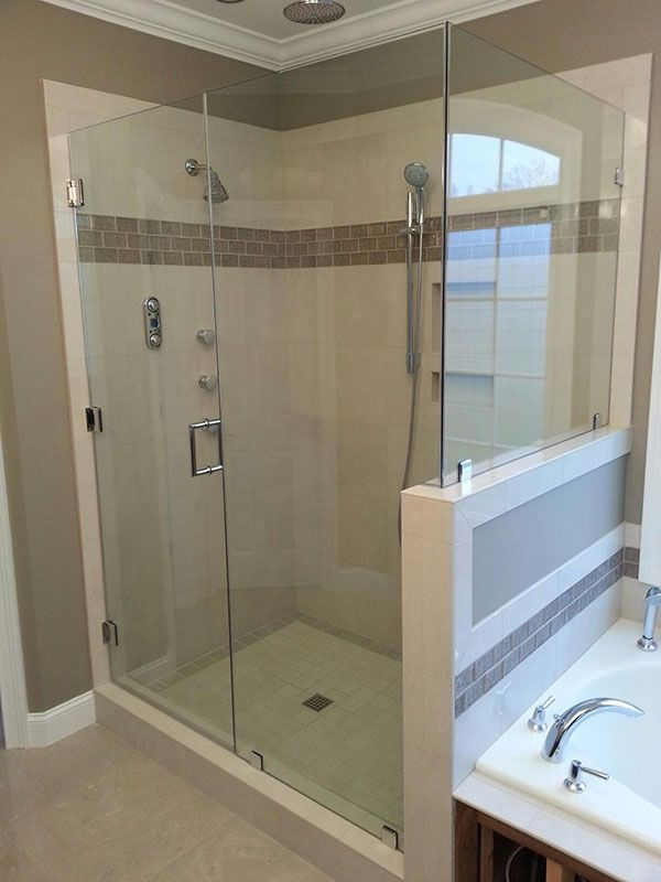 Frameless Shower Doors With Images Shower Doors Frameless