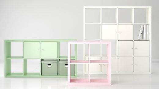 Expedit Is Now Kallax Cube Storage Series Decorating The