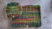Photo of Gestrickter Schal und Mütze, #LoopScarf # Beanie #Knitting #und #knit Loo …, #armst …