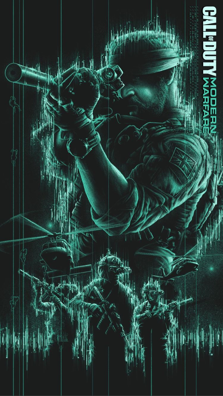 Call Of Duty Modern Warfare Captain Price Gambar Karakter Penembak Jitu Militer