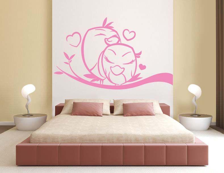 Sticker Mural Pour Les Amoureux ♥   #ZoneStickers #SitkerChambre #têtedelit #Amoureux