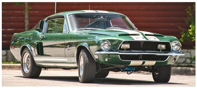 68 Shelby Gt500 >> Rare 68 Shelby Gt500 Heads To Motostalgia Auction D Elegance 1968
