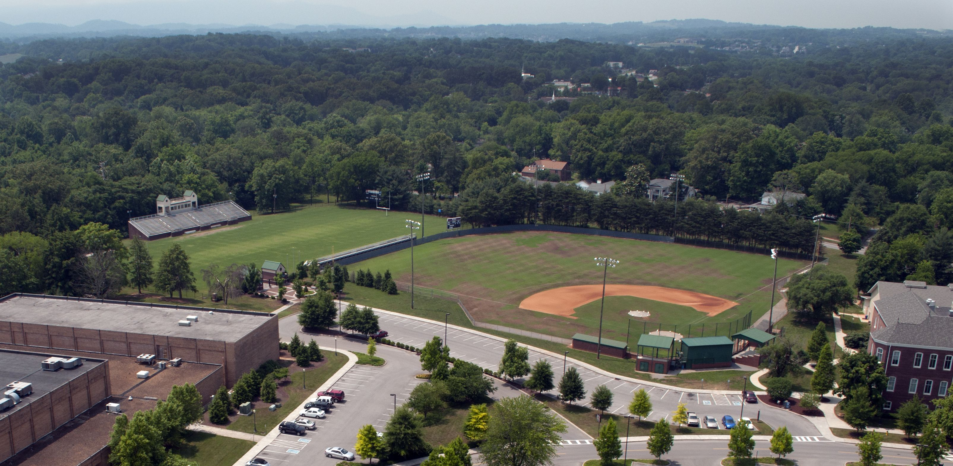 The Maryville College Fighting Scots Baseball Field fightingscots