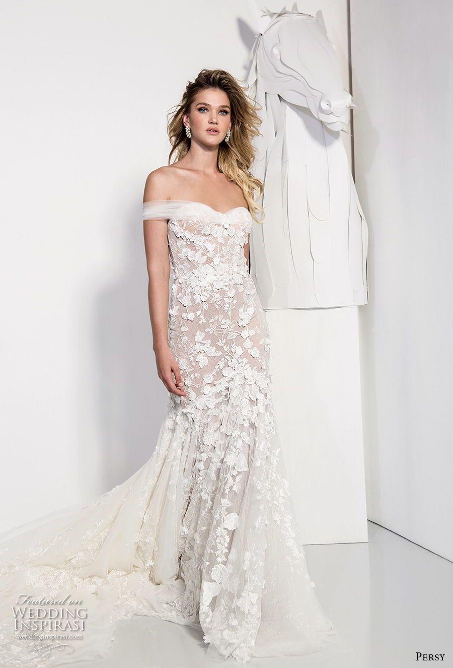 """Persy Couture 2019 Wedding Dresses — """"Affaire de Fleurs"""" Bridal ..."""