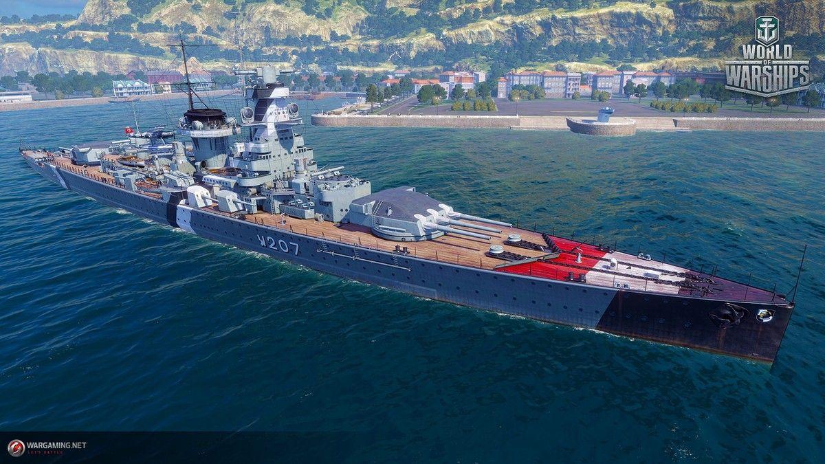 World of Warships - free online battleship game, play naval