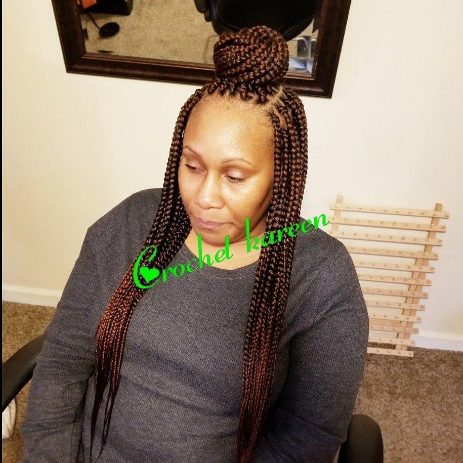 Box Braids 1b 350 Crochet Braids Crochet Necklace