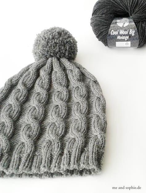Photo of einfacher Kabelhut für Jungen und Männer