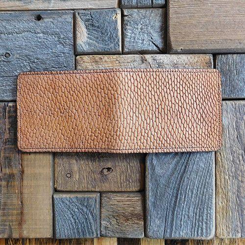Handmade beaver tail wallet