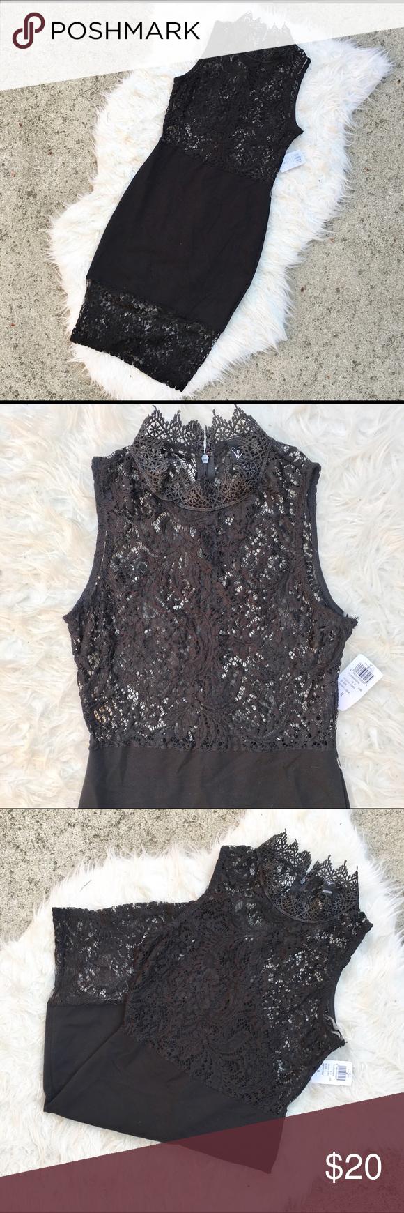 Lace dress tight  Black Lace Dress NWT  My Posh Closet  Pinterest  Lace dress black
