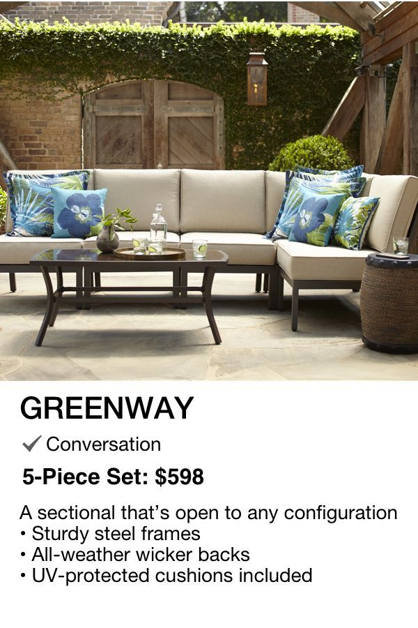 Miraculous Greenway Patio Set 598 As Shown 1 Table Corner Seat 4 Forskolin Free Trial Chair Design Images Forskolin Free Trialorg