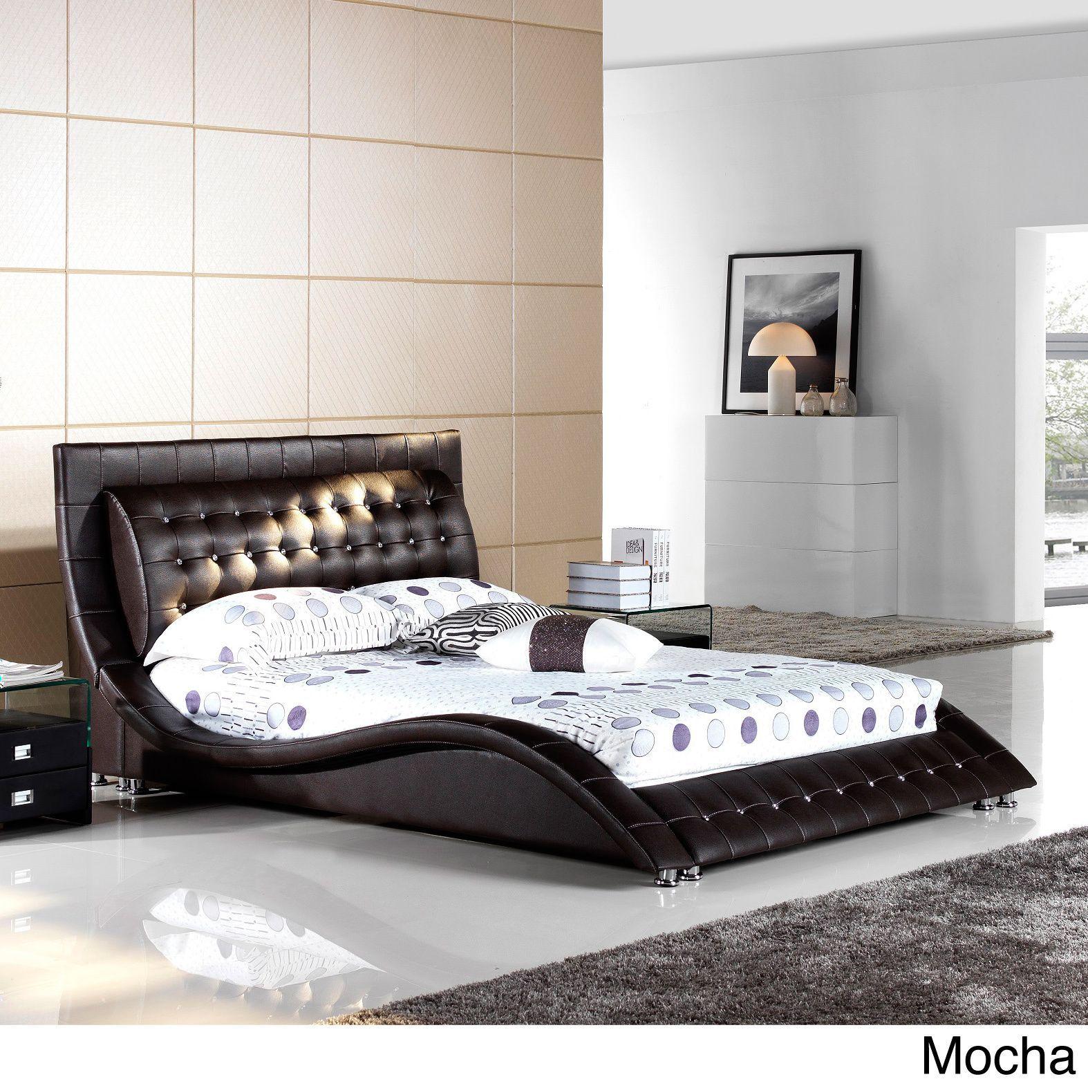Matisse Dublin Modern King Size Platform Bed