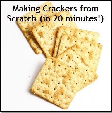Homemade crackers in 20 minutes learn all you need to know about homemade crackers in 20 minutes learn all you need to know about making crackers from scratch the flavors are limited only by your imagination pinterest solutioingenieria Image collections