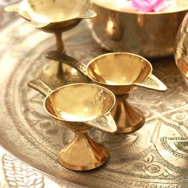 Lampe A Huile Indienne Artisanale Jwala Deepak Gift Pinterest