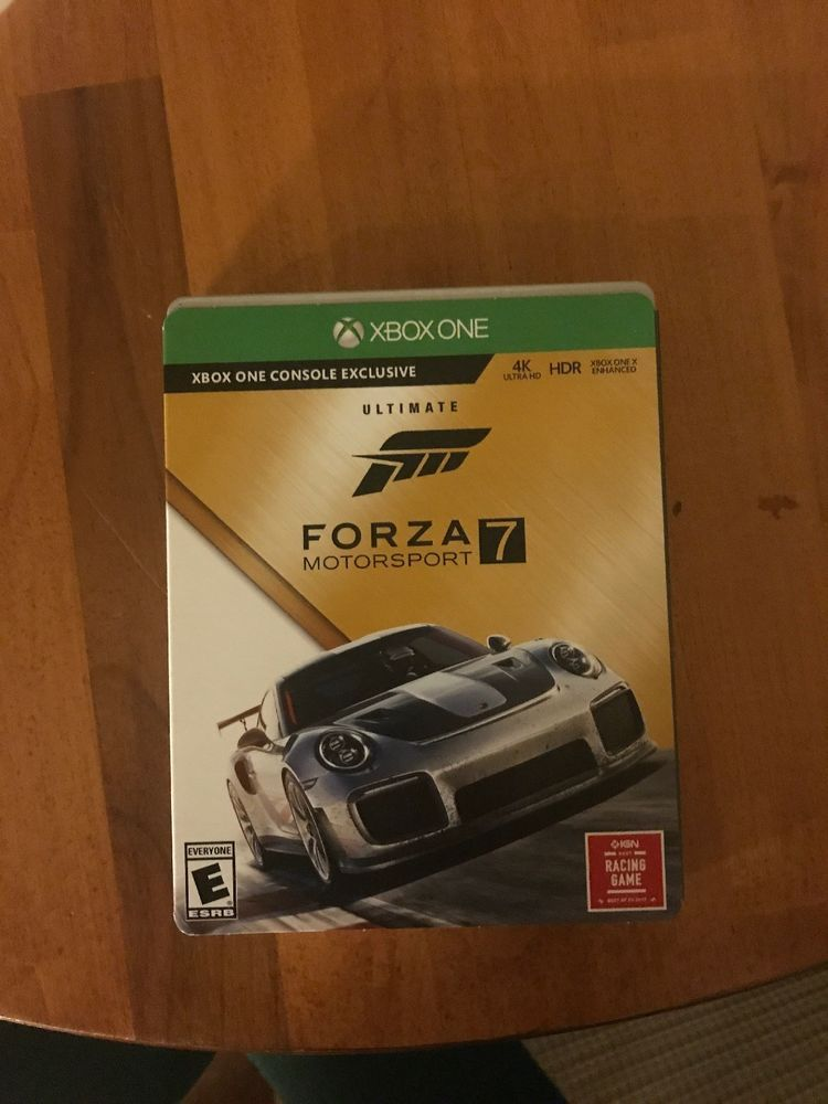 forza horizon 4 ultimate edition steelbook