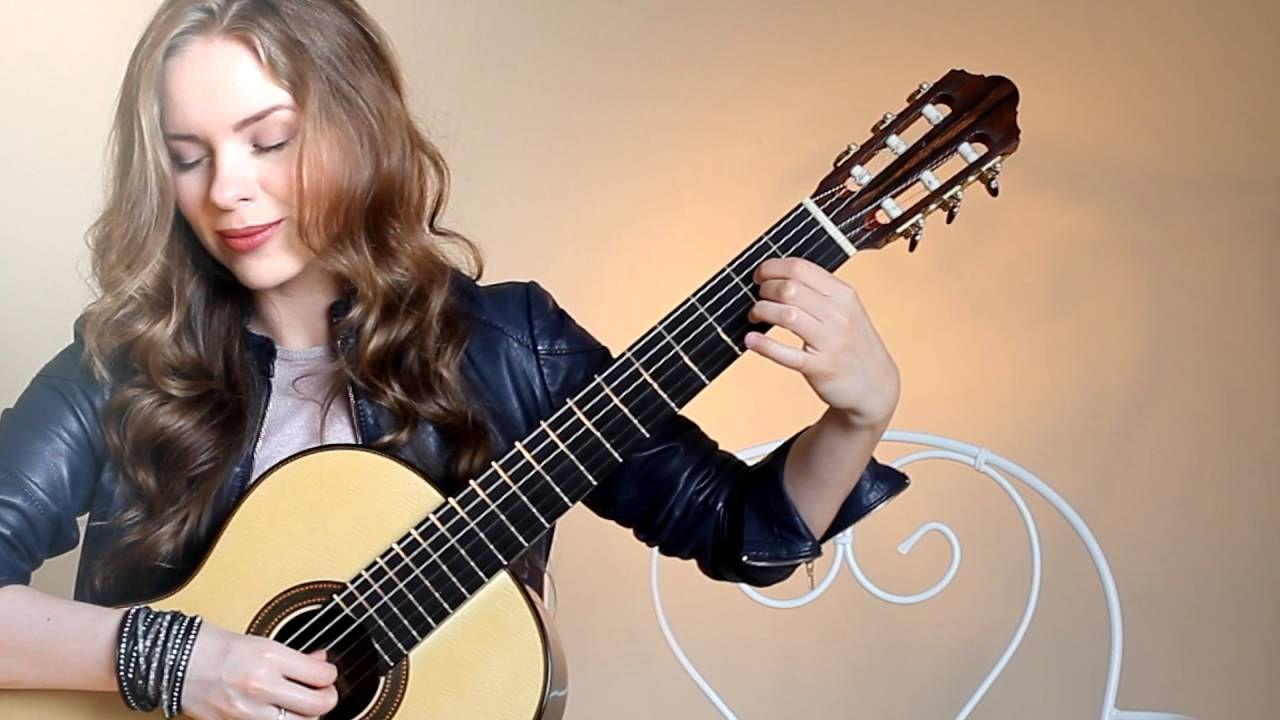 Michelle Performed By Tatyana Ryzhkova Youtube Guitar Acoustic Guitar Lessons Acoustic Guitar