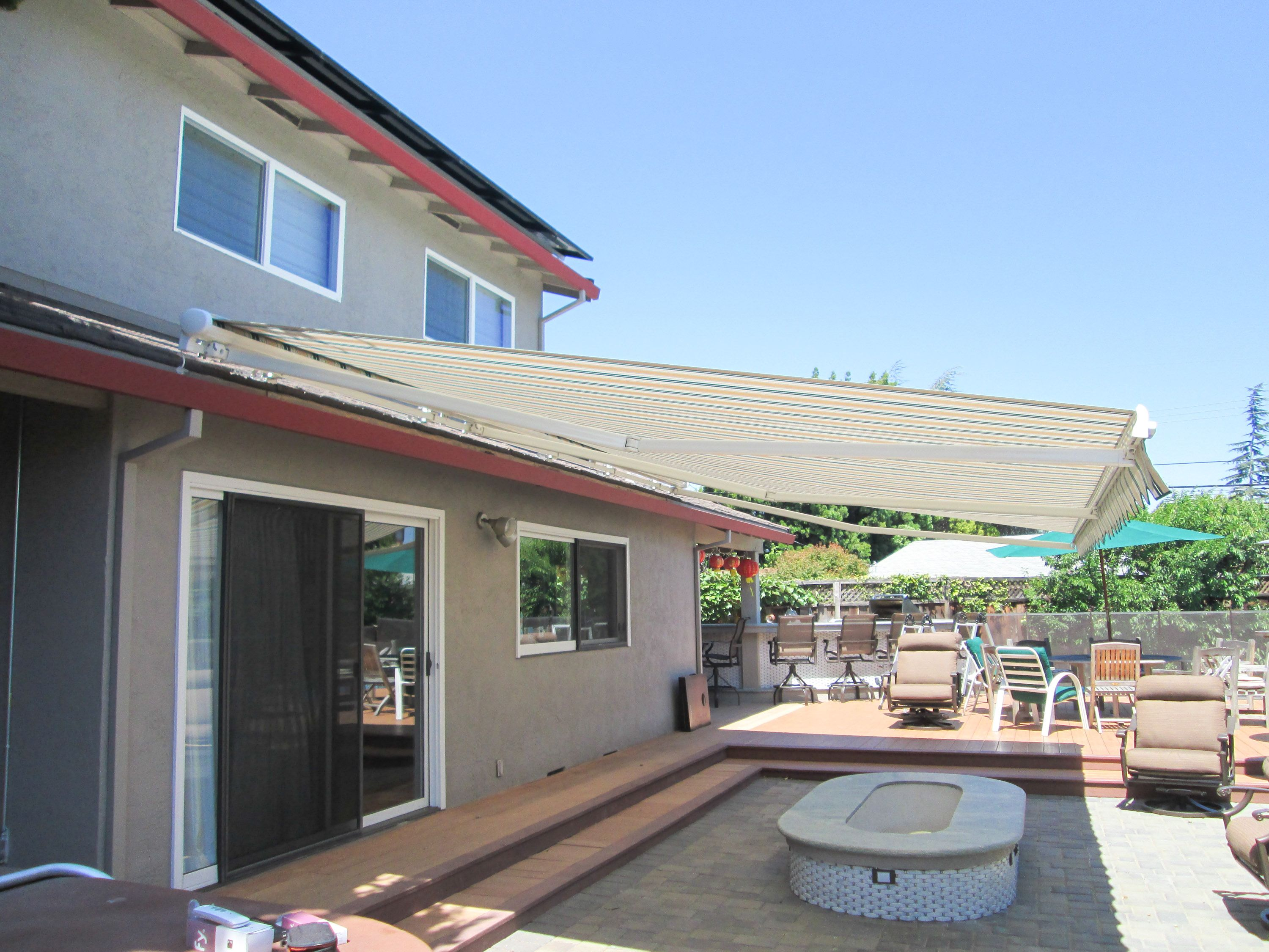 retractable for commercial quick awning awnings motor canopies kranti links