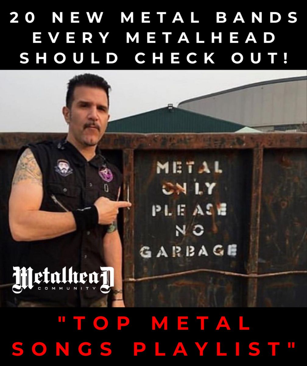 Pin by Metalhead Community on ROCK AND METAL in 2020