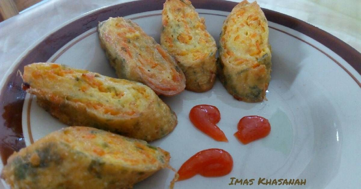 Resep Rolade Tahu Wortel Oleh Imas Khasanah Resep Makanan Resep Masakan Indonesia Resep