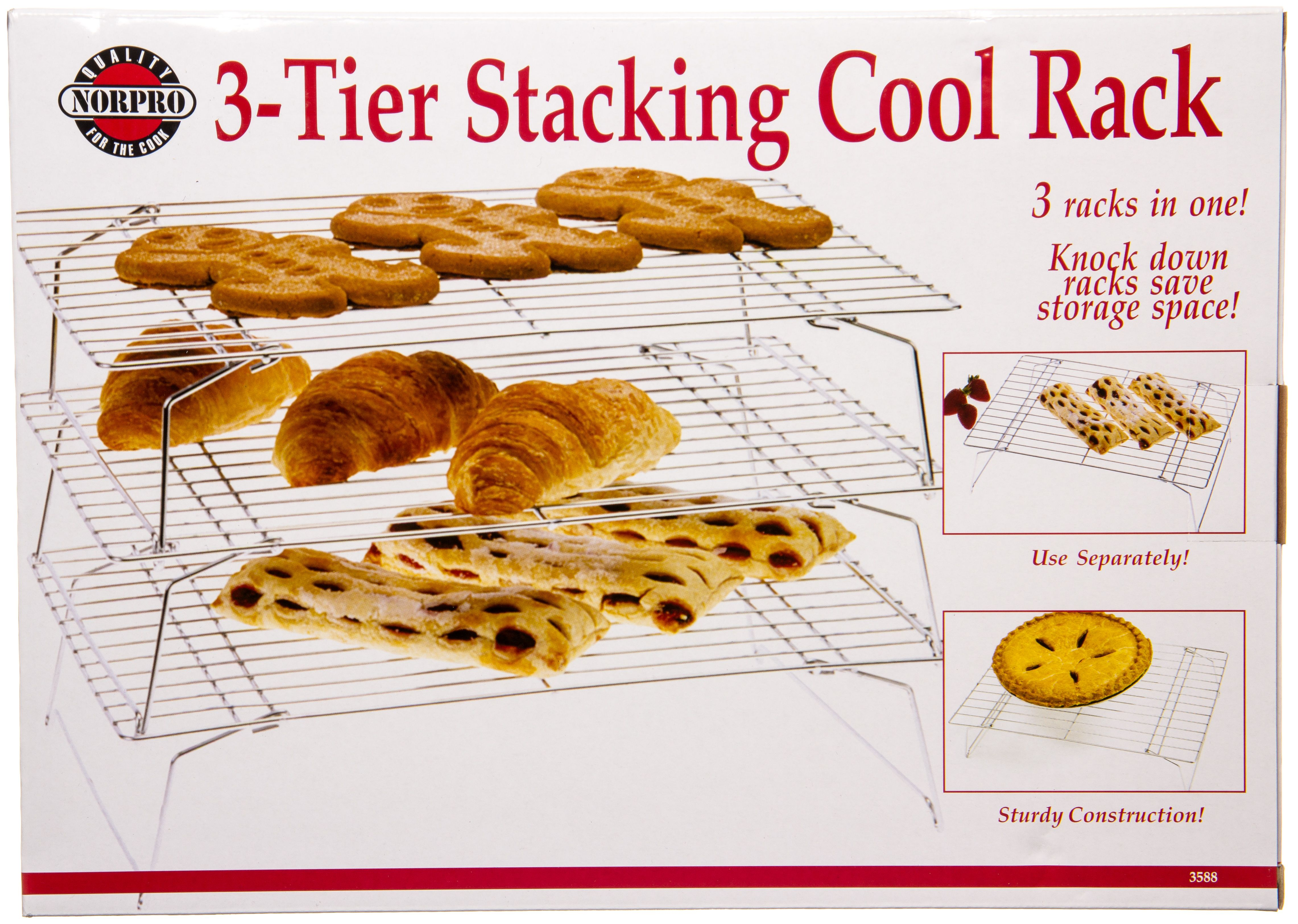3 Tier Stacking Cooling Rack 1 Unit Cooling Racks Amazing