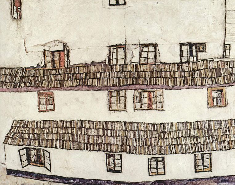 Egon Schiele's buildings
