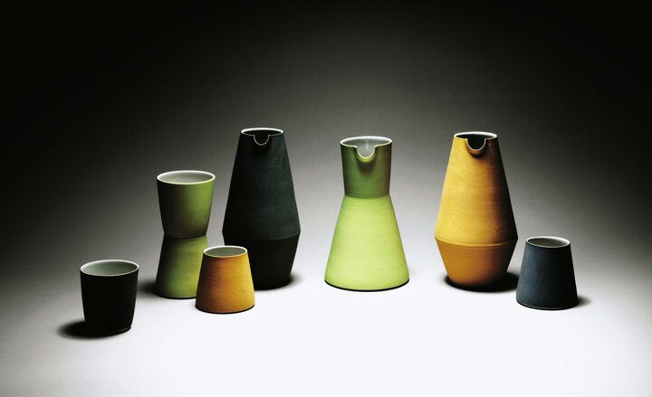 Derek Wilson Handmade Wallpaper Wallpaper Magazine Pottery Dishes