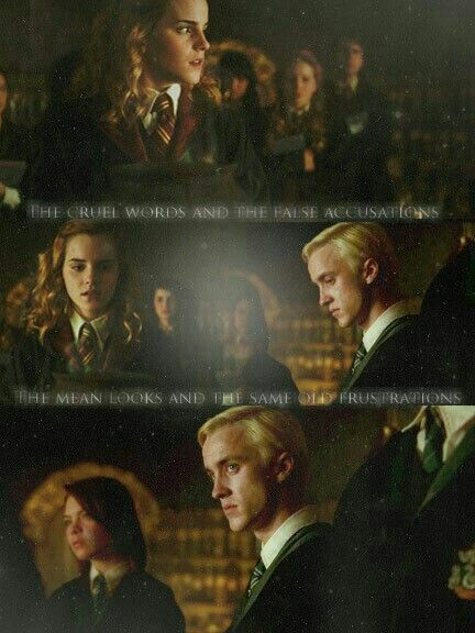 Draco & Hermione - Dramione | Harry Potter Movies | Dramione, Harry
