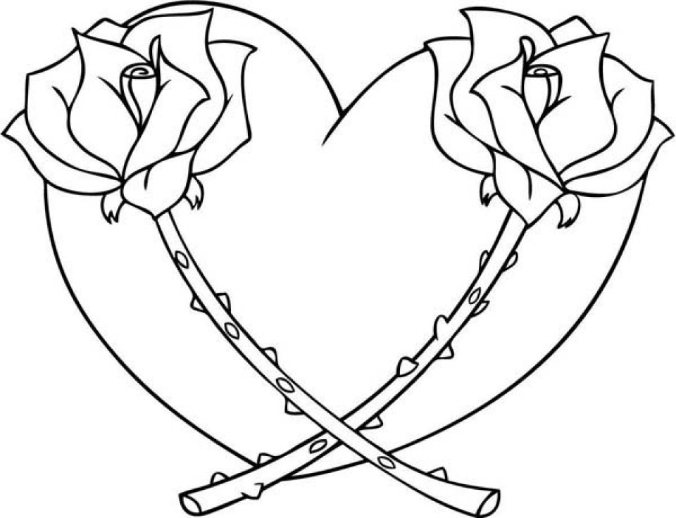 Coloring Rocks Heart Coloring Pages Rose Coloring Pages Shape Coloring Pages