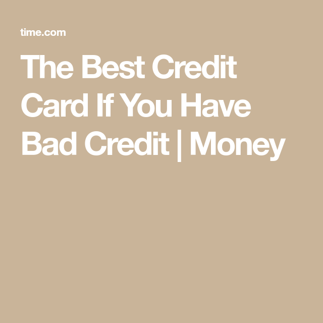 If You've Got Bad Credit, This Card Can Help You Fix It