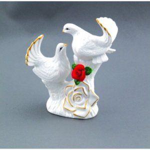Porcelain Love Birds