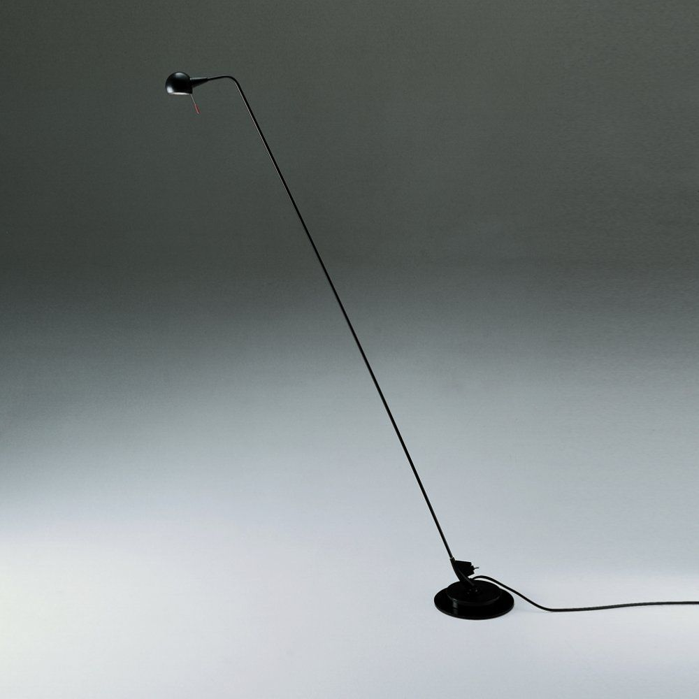 Artemide Firefly A910500 Lettura Black Floor Lamp | Love4Lighting ...