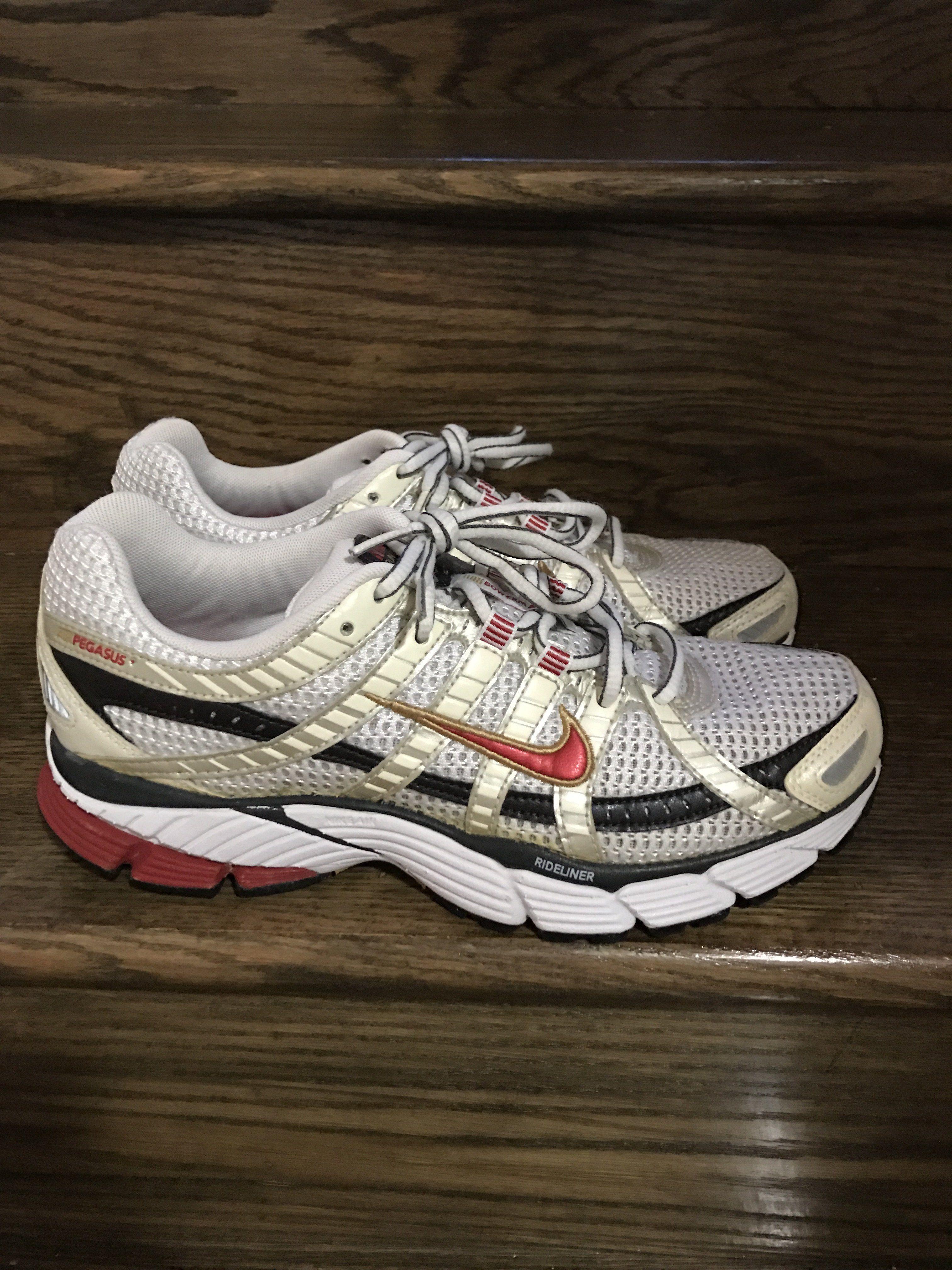 38dde396c48 Mens VTG 2007 Nike Air Pegasus Bowerman Series Running Shoes Sz. 8.5 ...