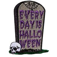 Embroidered Pumpkin Patch by Kreeepsville 666