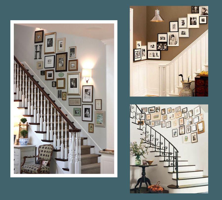 Mit næste boligprojekt: Billedevæg & trappe