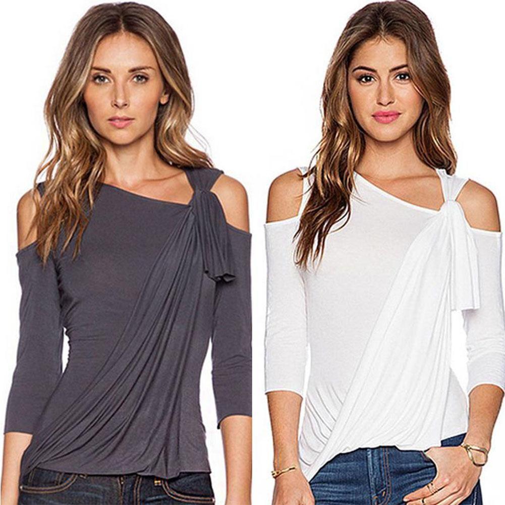 BuyinCoins  BuyinCoins Fashion Women Loose Top Long Sleeve Blouse