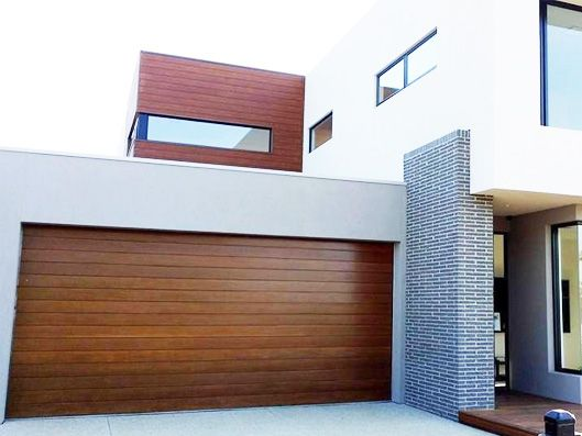 Steel Line Biowood Garage Door Meets The Standard For Fire Safety