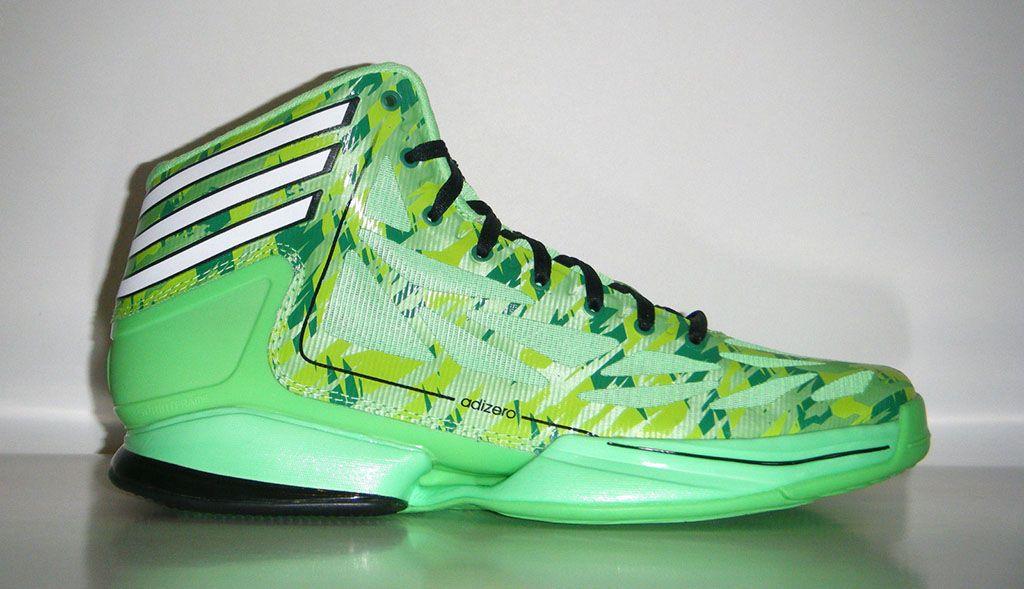 more photos 80c26 c8312 ... adidas adiZero Crazy Light 2 – Neon Green Camo. fitness bodybybriscoe  ...