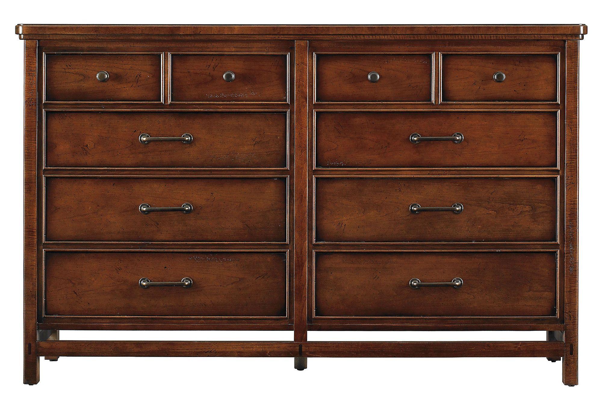 One Kings Lane   Stanley Furniture   Modern Craftsman Dresser