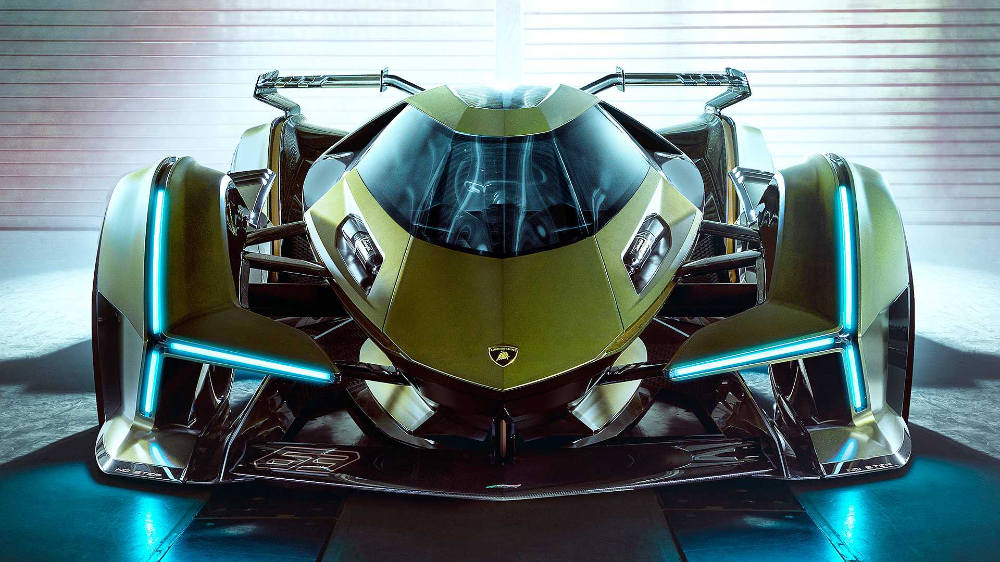 Lambo V12 Vision Gran Turismo Unveiled As 'The Best