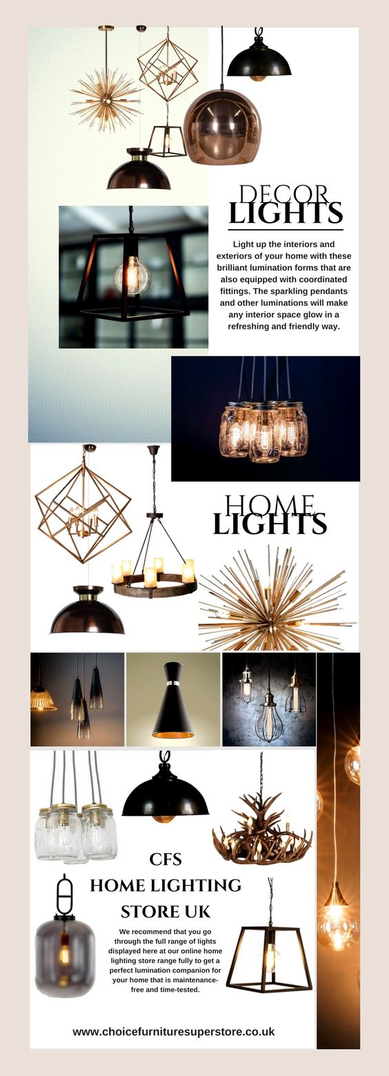 Light up the interiors and exteriors of your home with these ...